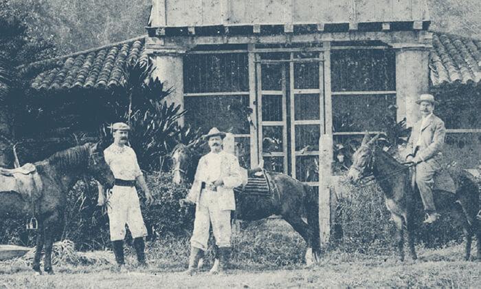 Ein junger deutscher Kaufmann namens Gustav Julius Vollme