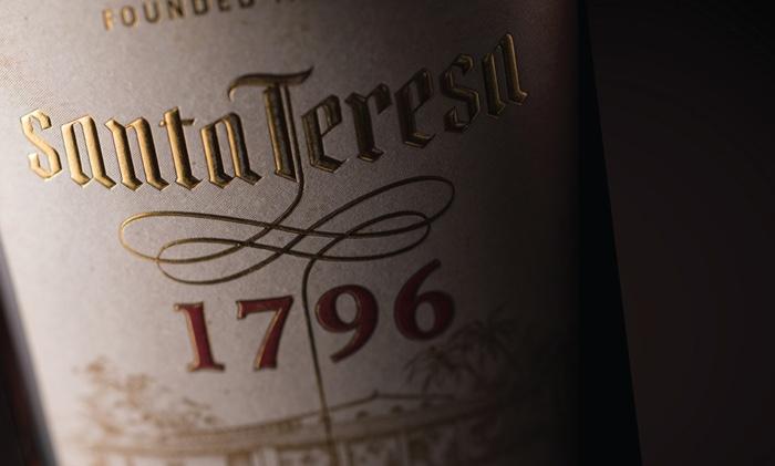 Flasche SANTA TERESA 1796