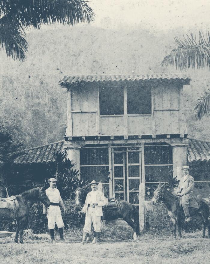 A young German merchant named Gustav Julius Vollmer